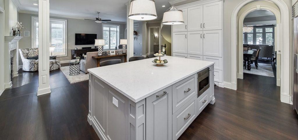 beautiful marble countertops